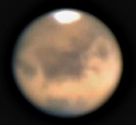 Mars mit Webcam