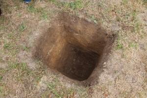 """Das erste Foto """"unseres"""" Schwarzen Lochs, das bald eine Amme Beton aufsaugt."""