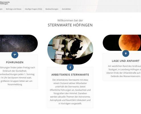 Homepage seit 05.2017