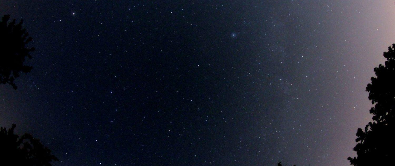Nachthimmel über Leonberg