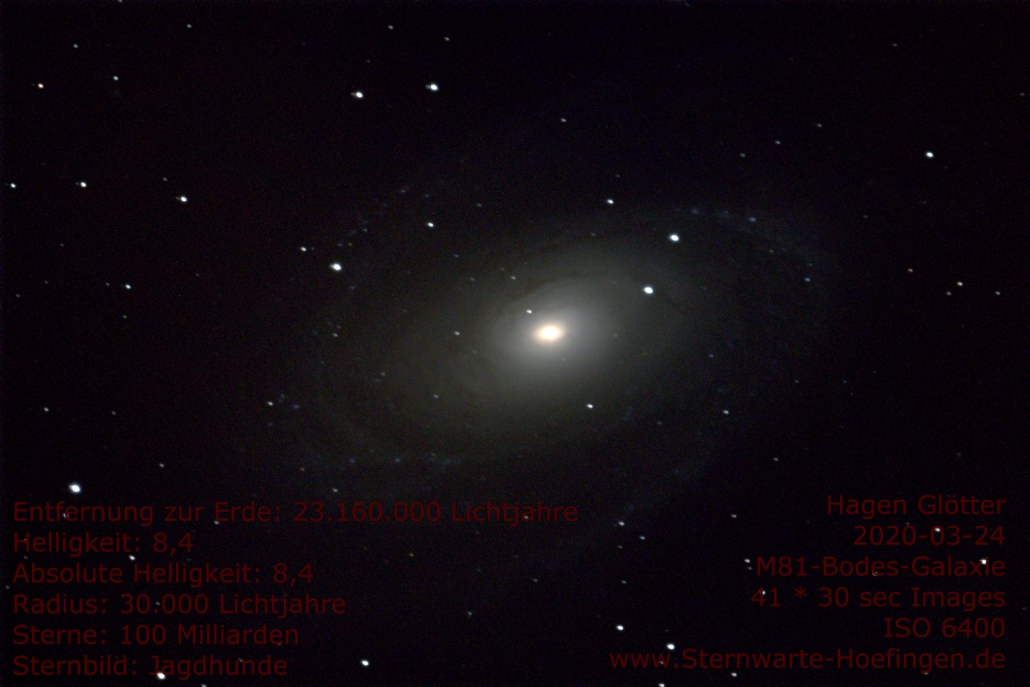 M81 - Bodes-Galaxie